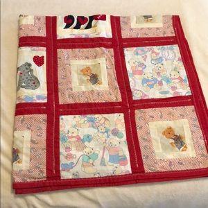 Beautiful handmade baby quilt!